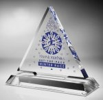 Triangle Acrylic Award Sales Awards
