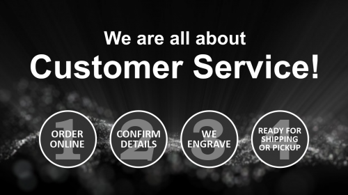 We are all about Customer Service